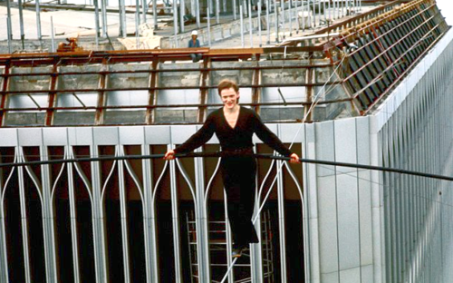 Philippe Petit 1974 Twin Towers